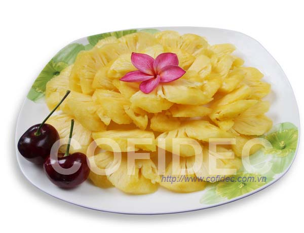 Pineapple Fan cut